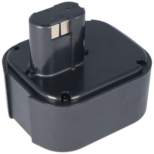 AccuCell batteri passer til Hitachi EB24B, EB2430H NiMH batteri 2.0Ah