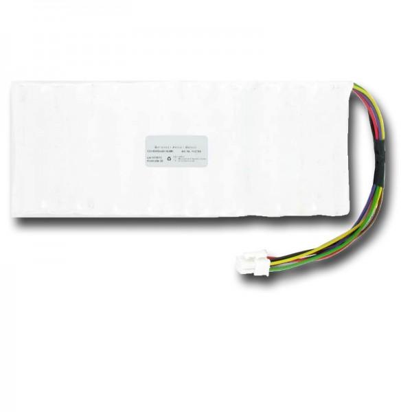 Batteri passer til Husqvarna 5350962-01, 5350636-01, NiMH 6Ah