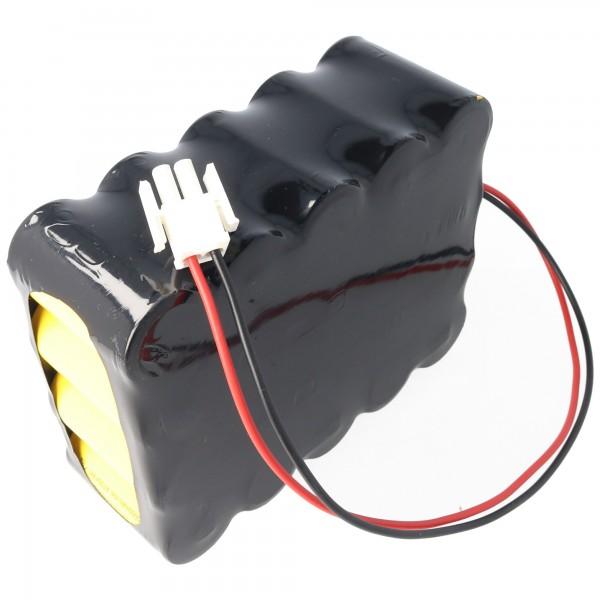 Batteripakke passer til FELCOtronic 82/101, 82 / 82A 3000mAh NiCd