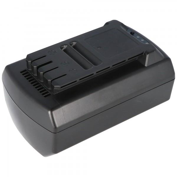 Batteri passer til Güde 95526 batteri Li-ion 36V 4.0Ah Havefølelser R1S-360-AH-C 36V 144Wh