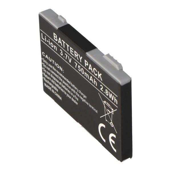 AccuCell batteri passer til Siemens CT65, 750mAh