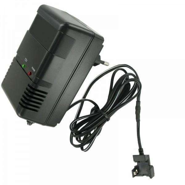 Hurtig oplader med klipkontakt, der passer til Panasonic LC-S122AG MP1220 batteri