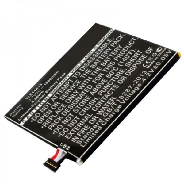Batteri passer til Wiko Darkmoon BLU L150u, Life Play S Batteri TLE14A15P104INTRNL, P104-J430, TLE14A07