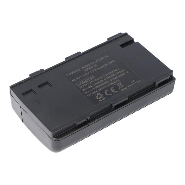 Batteri passer til Aiwa BN-V6GU, Nordmende AC1100, 2100mAh