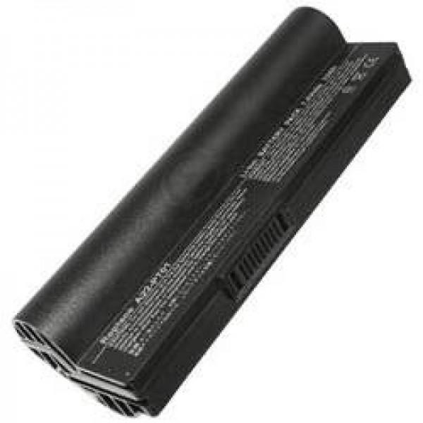 AccuCell batteri passer til Asus Eee PC, 6600mAh black