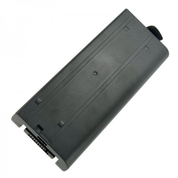 Batteri passer til Panasonic ToughBook CF-18, CF18, CF-VZSU30, 7400mAh
