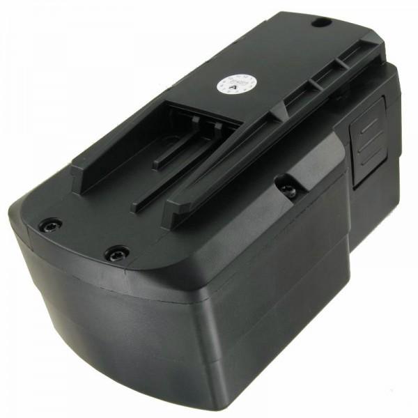 Genopladeligt batteri passer til FESTO TDK 15.6 15,6 Volt 2000mAh NiMH genopladeligt batteri