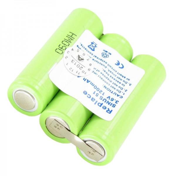 AccuCell batteri passer til Ascom Samba, Beocom 5000, T Sinus 51