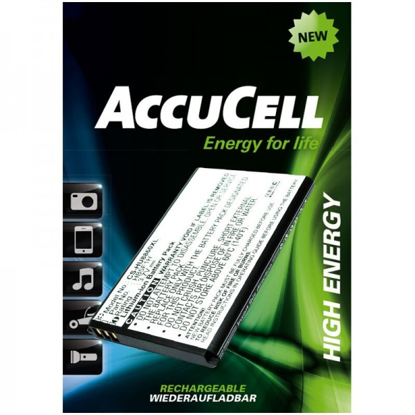 AccuCell batteri passer til Huawei Glory, Honor, M886, U8860