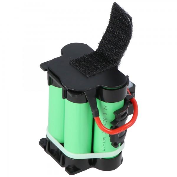 1500mAh batteri passer til Gardena 574 47 68-01 batteri R40Li, R45Li, R70Li, R80Li, Automower 105, 305, 308
