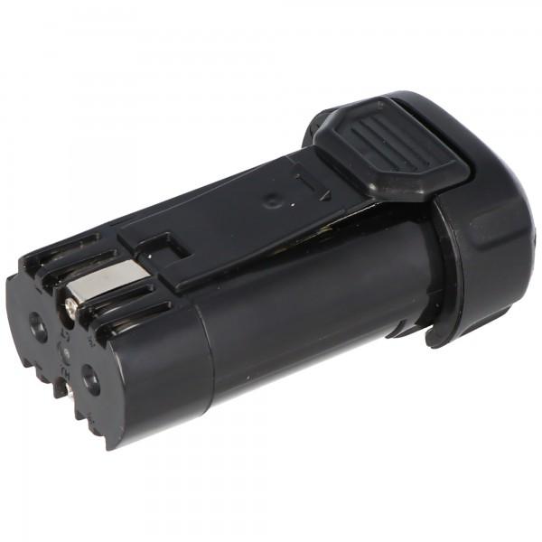 Batteri passer til Dewalt DCB080, DCB095, DCF680, DCF680N1, DCF680N2, DCF682, DCL023, DW4390 Batteri 7.2V, 8V max. 1000mAh (nr