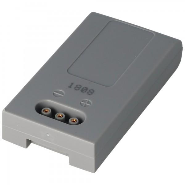 Batteri passer til HÖFT & WESSEL HW19200 batteri T26580 / 2, 3,6 Volt 1900mAh