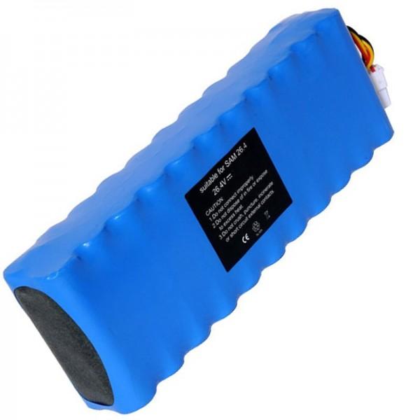Batteri passer til Samsung Navibot VC-RS60, VC-RS60H, VC-RS62 Batteri DJ96-0079A, Ni-MH
