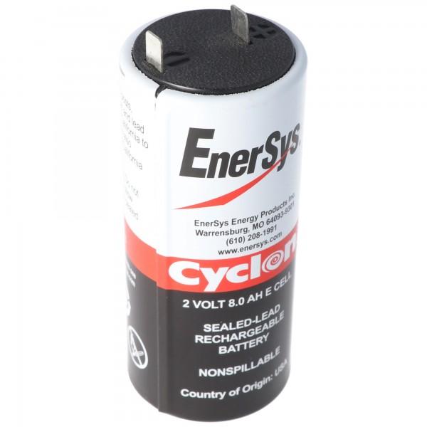 Hawker Cyclon Enersys Cyclon 0850-0004 Batteri 8000mAh 2 Volt