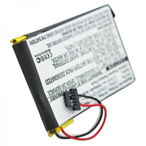 AccuCell batteri passer til NAVIGON 70 Easy battery, 70 Plus