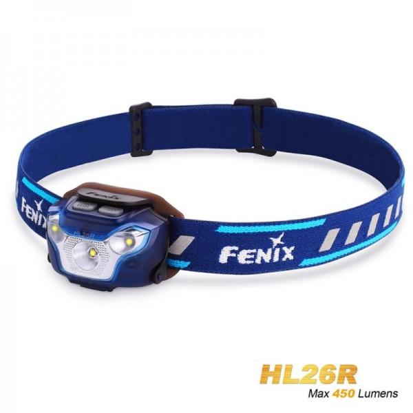 Fenix HL26R LED forlygte blå med Li-Polymer batteri 1600mAh