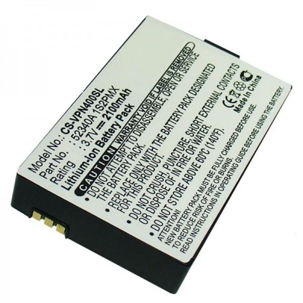 Batteri passer til VDO DAYTON BAT-4060, PN4000, PN4000-TSN, 52340A 1S2PMX