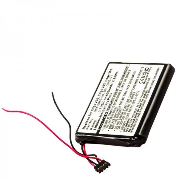 AccuCell batteri passer til Garmin Edge 200, Edge 205, Edge 500