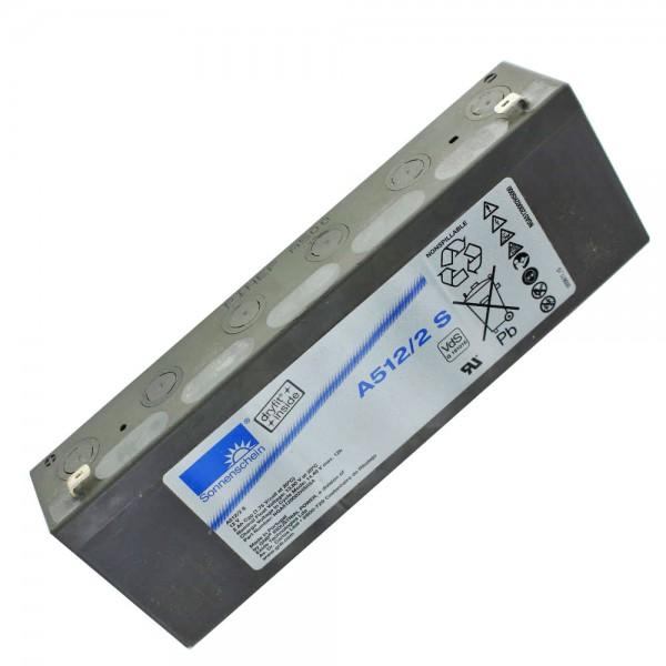 Sunshine Dryfit A512 / 2.0S blybatteri, VdS nr. G191016