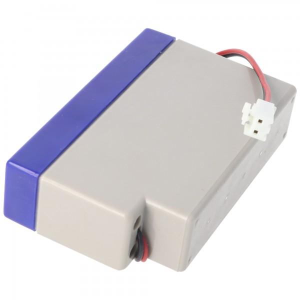 UL0.8-12S Ultracell Bly Batteri 12 Volt 0.8Ah med kabel og JST stik