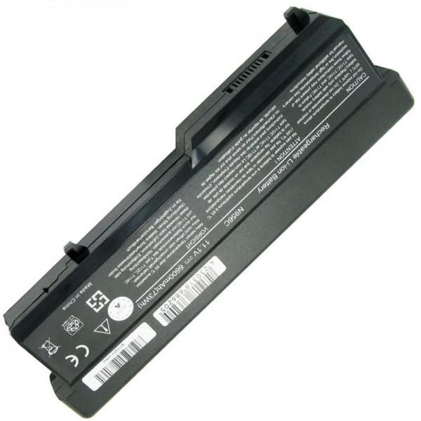 Batteri passer til Dell Vostro 1310, Vostro 1320, 312-0725 11,1 Volt 6600mAh