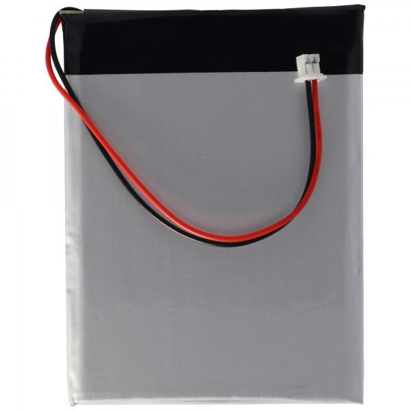 AccuCell batteri passer til Cowon battery D2 2GB, D2 4GB, D2 8GB, D2 Plus 16GB