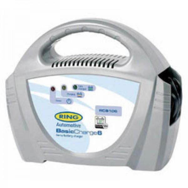 BasicCharge6-oplader 12 volt 6A med manuel afbrydelse