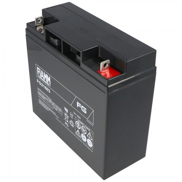 Fiamm FG21703 PB blybatteri 12 volt og 17Ah