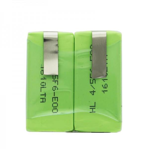 Batteri passer til Sanyo 2 x HF-C1U NiMH genopladeligt batteri med LF-90 ° Crad