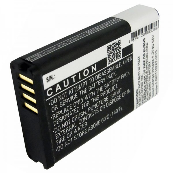 Batteri passer til Garmin Montana batteri G2M600, 010-11599-00