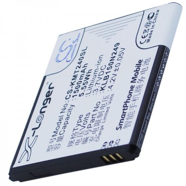 Batteri passer til Kazam Trooper 2 4.0, KLB150N249 3.7 Volt 1500mAh