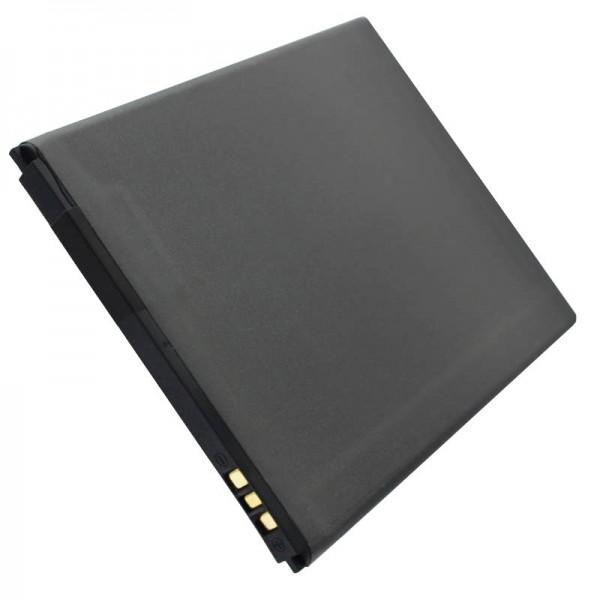 AccuCell batteri passer kun til Hisense HS-U970, HS-T970 batteri LI37200C, LI38200A, LI37200E
