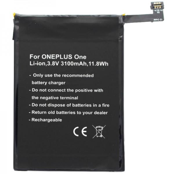 Batteri passer til ONEPLUS Et batteri A0001, One, BLP571 batteri
