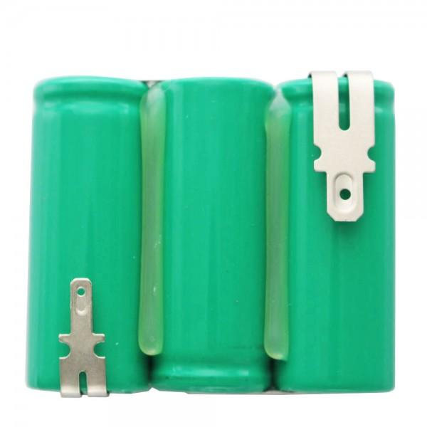 Batteri til Wolf Lawn Sax Accu 45, ACCU45, 3,6 Volt NiMH 2150mAh