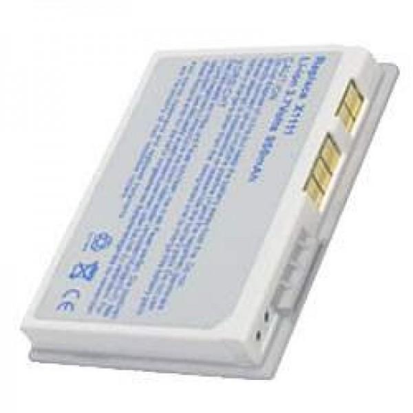 AccuCell batteri passer til Dell Axim X3, X3i, X30 sølv
