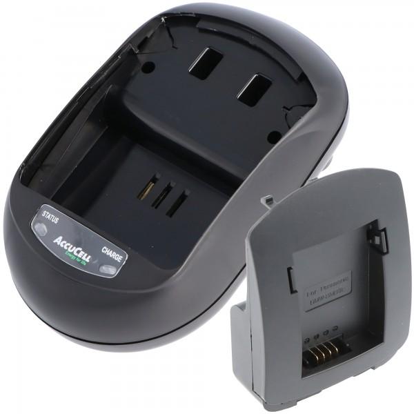 Batterioplader passer til Panasonic DMW-BMB9E, DMC-FZ40 -FZ45 -FZ100
