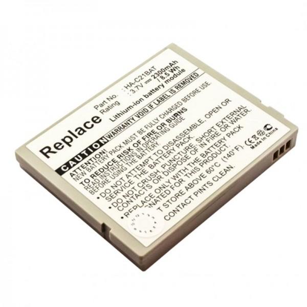 AccuCell batteri passer til Casio IT-10 HA-C21BAT batteri
