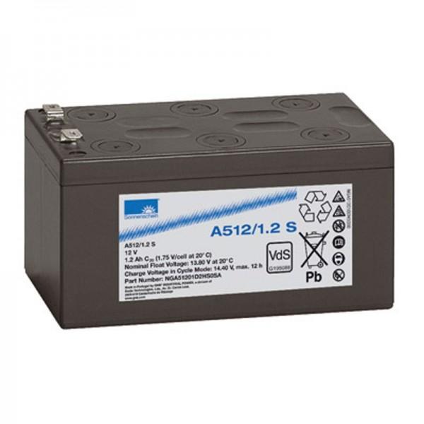 Solskin A512 / 1.2S blybatteri PB 12 volt 1.2Ah