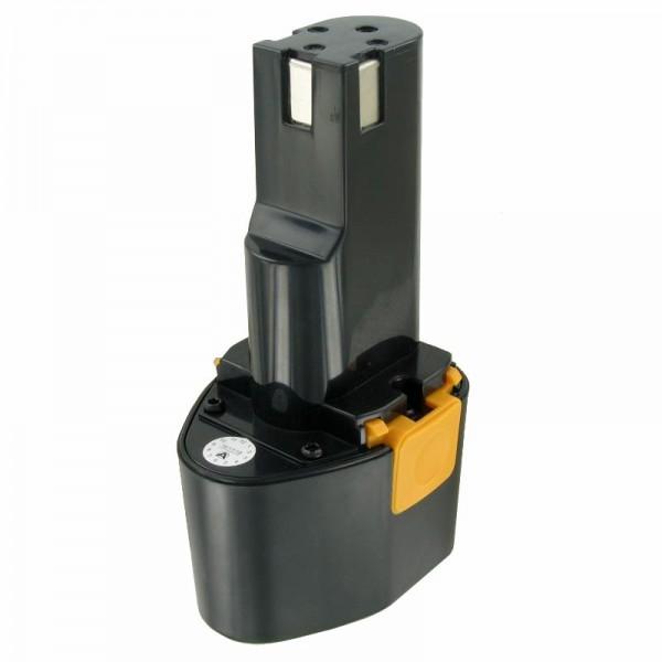 Batteri passer til Panasonic EY9080 Batteri Panasonic EZ 571, NiMH 2Ah