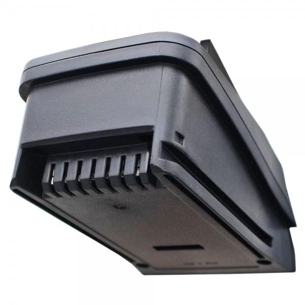AccuCell opladningsadapter passer til batteriet PSR 14.4 LI, PSR 18 LI-2, Uneo Maxx