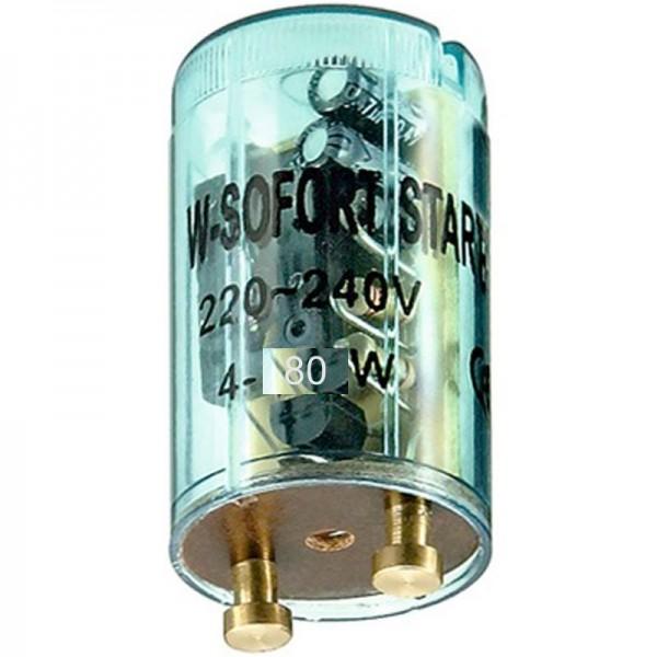 Starter til fluorescerende rør 4 - 80 watt