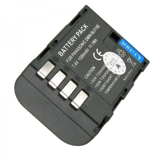 DMW-BLF19E AccuCell kvalitet batteri passer til Panasonic DMC-GH3, Lumix DMC-GH3A