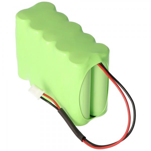 Batteri passer til Siemens IAB1201-8, A5Q00020293, Sintony IC60-W-10 12 Volt 2100mAh