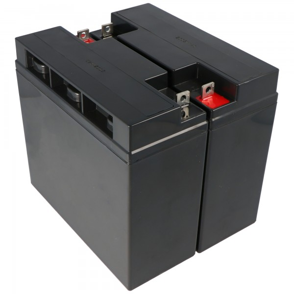 Batteri passer til APC RBC7 batteri til selvkonvertering, 12 volt, 18000mAh