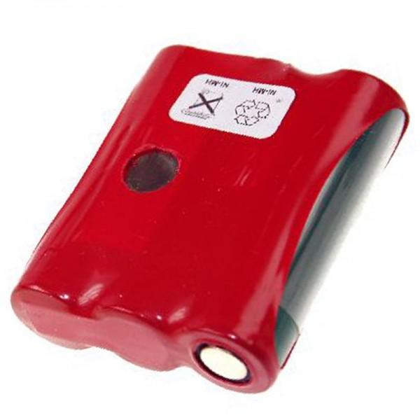 AccuCell batteri passer til Datalogic PT 2000, PP2000C, 1650mAh