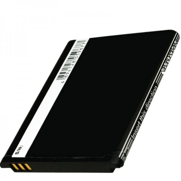 Huawei G7300, T-Mobile Energy replika batteri fra AccuCell med 3,7 volt