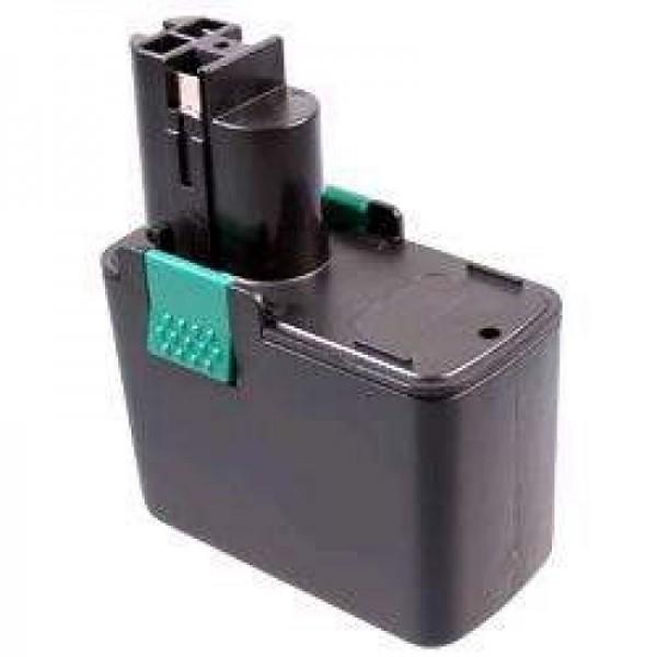 Batteri passer til Bosch GSR 14.4 VES2, GSR 14.4 VE2, NiMH 1.7Ah