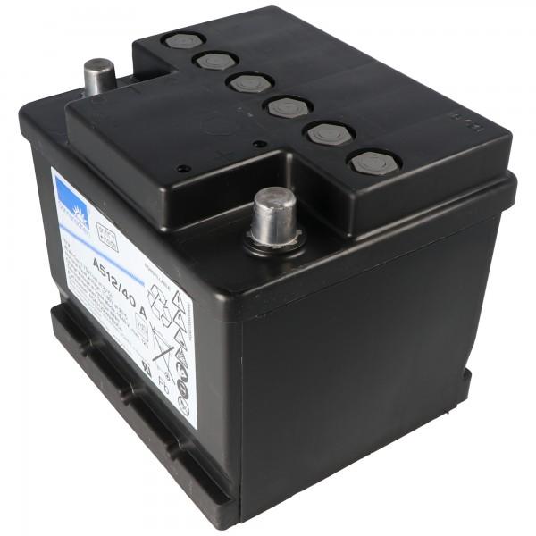 Sunshine Dryfit A512 / 40A blybatteri, VDS G191015