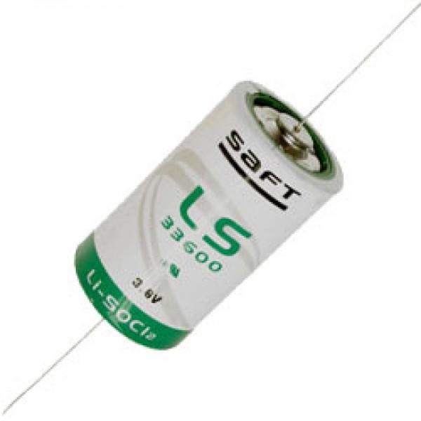 SAFT LS33600CNA lithiumbatteri 3.6V primær LS 33600 CNA