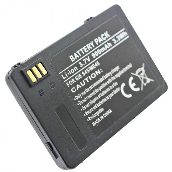 AccuCell batteri passer til Siemens S45, S45i, M45 batteri L36880-N4501-A100, 900mAh
